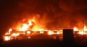 Danger As Pipeline Explodes At Ile Epo In Abule Egba Area Of Lagos 2 194